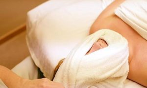 Hot Towel Therapy with Massage, Olympia WA